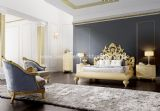 Venezia Bedroom Collection with Baroque Headboard